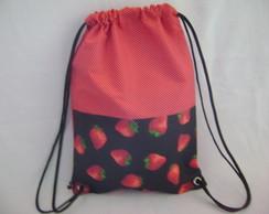 mochila infantil moranguinho