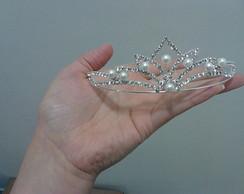 tiara princesa p�rola