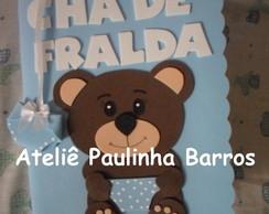 Caderno Ch� de Fralda