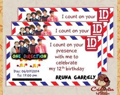 Convite One Direction
