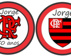 Tags para toppers do Flamengo