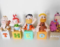 """Cubos Topo de bolo """"Flintstones"""""""
