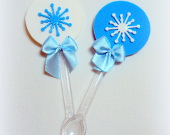 Colherinha decorada/topper Frozen