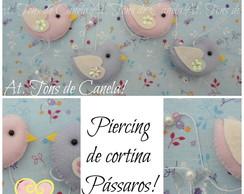 Piercing de cortina