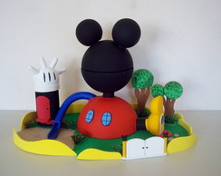 CASA DO MICKEY MOUSE - ENFEITE MESA