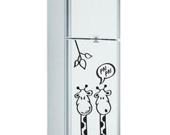 Adesivo Decorativo Geladeira girafa 1