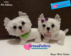 Chaveiro West Terrier
