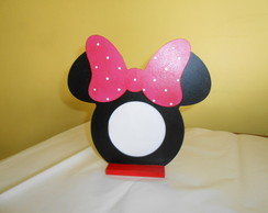 Porta Retrato Minnie e Mickey Orelha