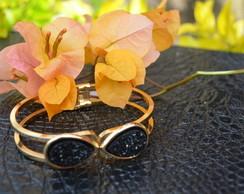 Bracelete com drusa