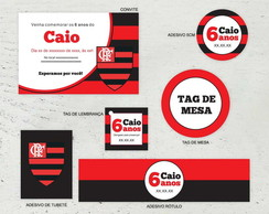 Kit digital Flamengo