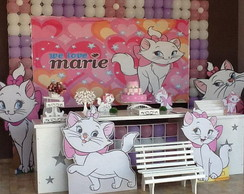 Decora��o Clean Gata Marie
