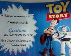 Convite para anivers�rio Toy Story