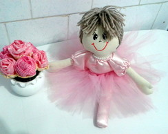 Boneca bailarina 45cm