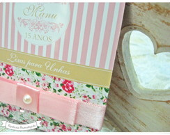 R�tulos Kit Toalete 15 anos floral