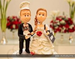 topo de bolo para casamento,