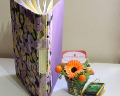 Caderno Orqu�dea
