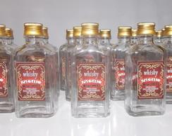 Garrafinha De Vidro Whisky Festa Boteco