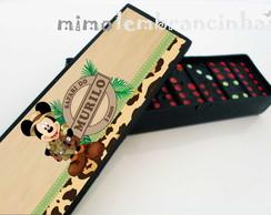 Domin� Personalizado Mickey Safari