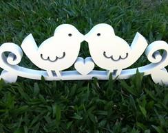 Topo de Bolo/Decora��o Love Birds