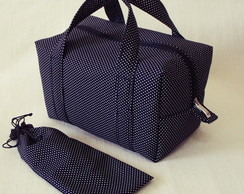 Lunch Bag T�rmica com Porta Talher