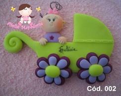 C�d. 002 Molde carrinho de beb�
