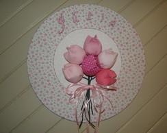 Porta Maternidade Tulipa