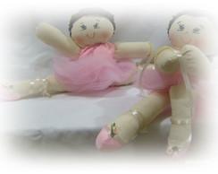 Kit com 2 bonecas bailarinas com 40 cm