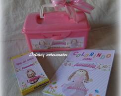 Mini kit maletinha boneca de pano grande