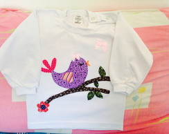 Camiseta Infantil Little Bird