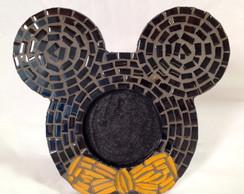 Porta retrato Minnie/ Mickey em Mosaico