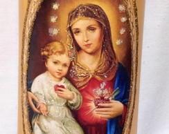 Mini Telha Nossa Senhora e o Menino