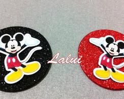 Aplique EVA glitter - Mickey