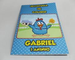 REVISTINHA DE COLORIR GALINHA PINTADINHA
