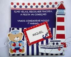 Convite Ursos Marinheiros
