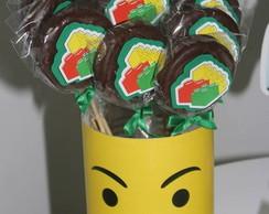 Pirulito De Chocolate Lego