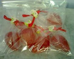 Morangos sabonetes