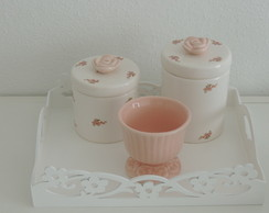 Kit Floral Rosa Seco Simples