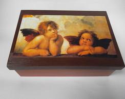 caixa mdf anjos e querubins