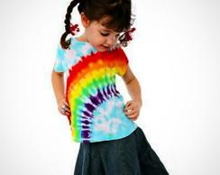 T-shirt Infantil Meninas e Meninos