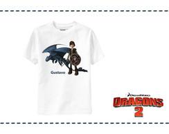 Camiseta Banguela e Solu�o - Drag�o