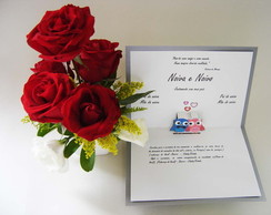 20103f - Convites de Casamento