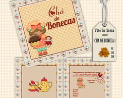 Convite CH� DE BONECA 1
