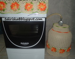 capa para botij�o de croch�