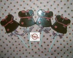 Pirulito de chocolate Vestido