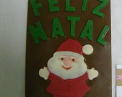 Cart�o de Natal de Chocolate