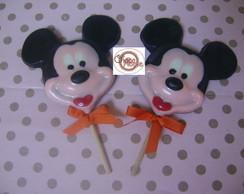 Pirulito do Mickey de Chocolate