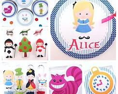 Kit Festa 1-Alice no Pais das Maravilhas