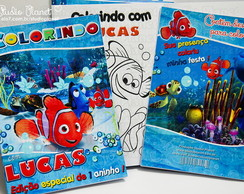 Revista Colorir Nemo