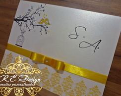 Convite Casamento - Cole��o Royal