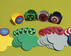 Forminhas personalizadas Os Vingadores